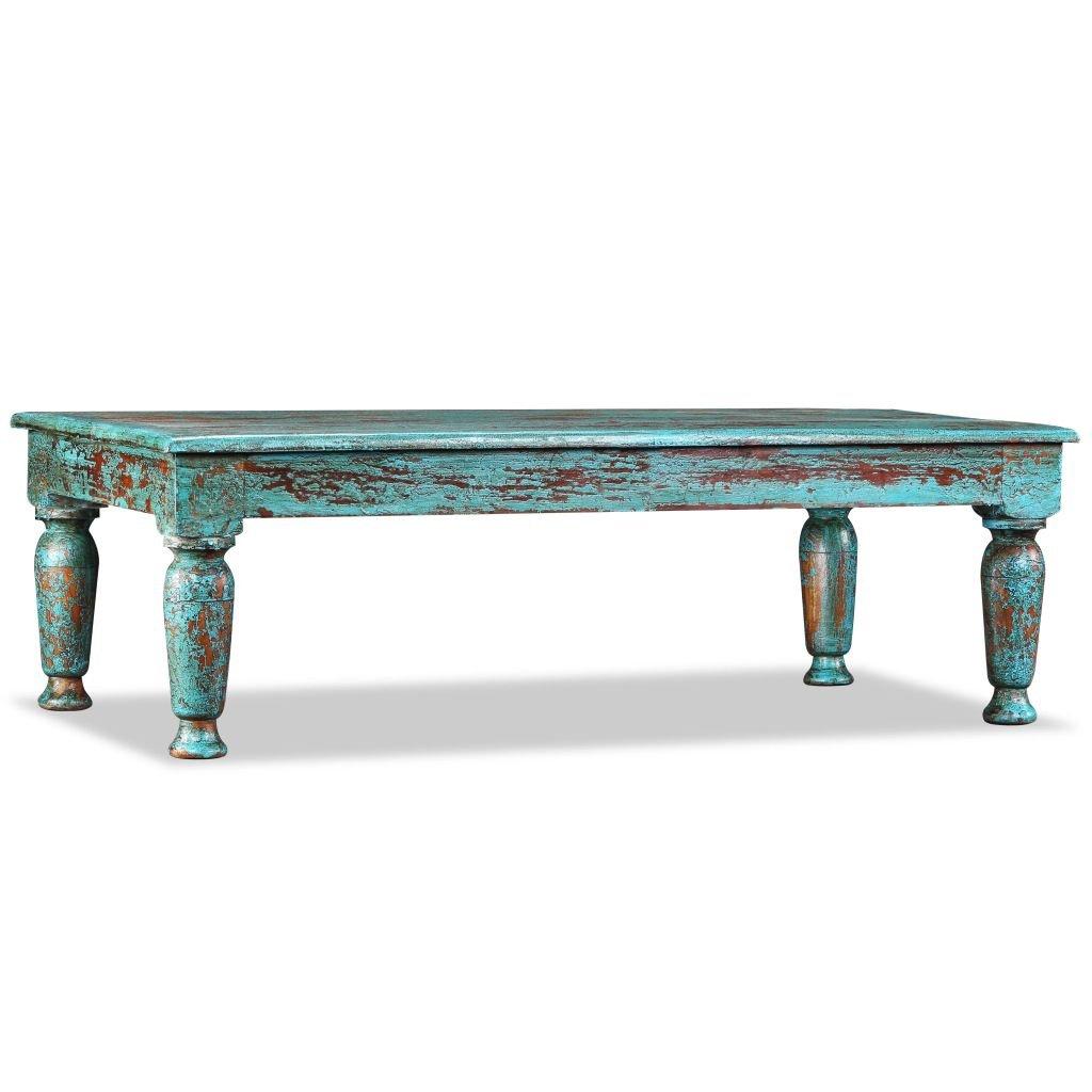 Konferenční stolek Nautic - masivní recyklované dřevo | 110x60x34 cm