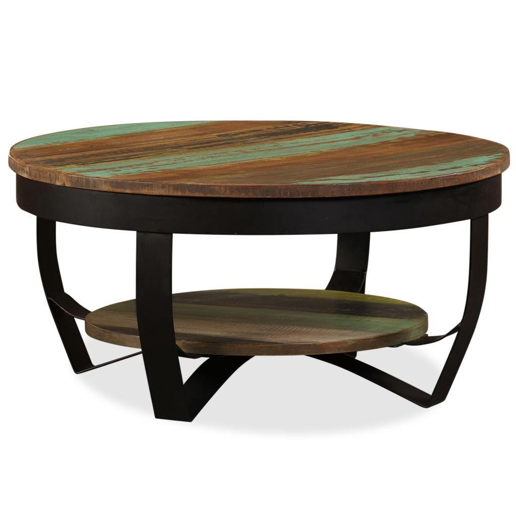 Konferenční stolek - masivní recyklované dřevo | 65x32 cm