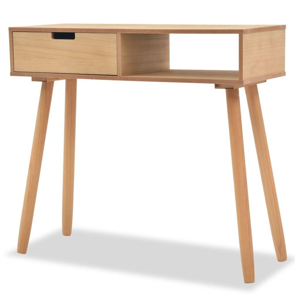 Odkládací stolek z masivní borovice   80x30x72 cm