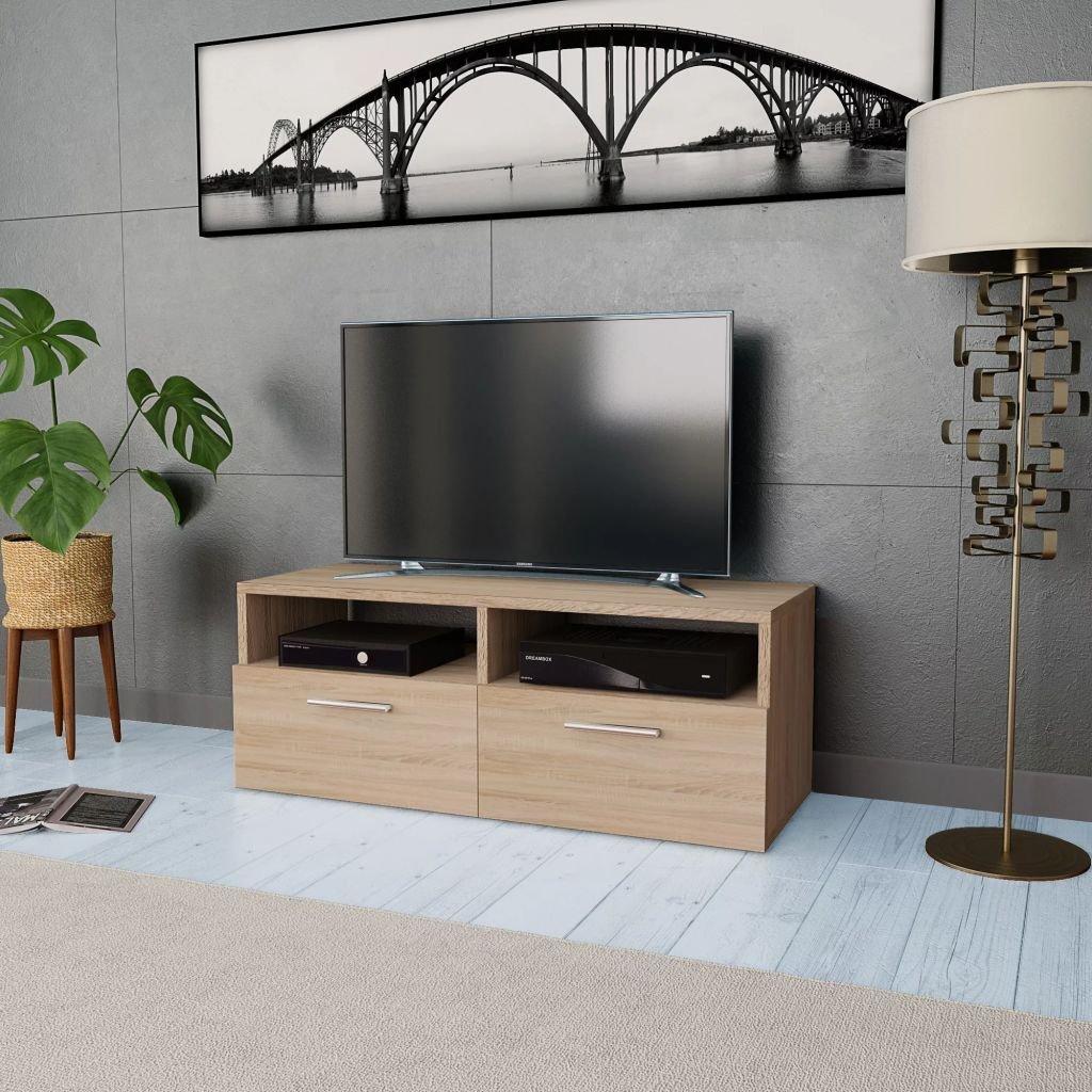 Stolek pod TV - dřevotříska | 95x35x36 cm