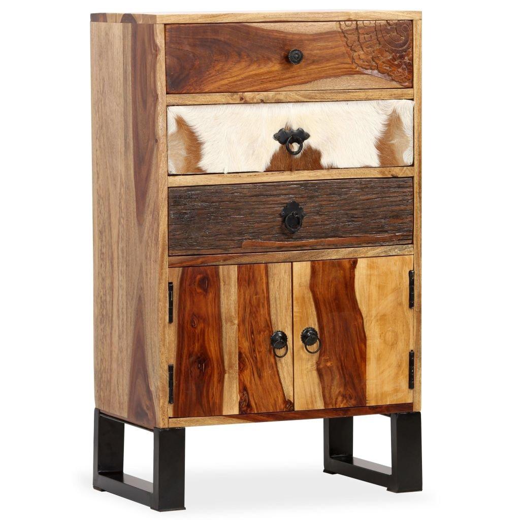 Příborník z masivního sheeshamového dřeva   50x30x86 cm