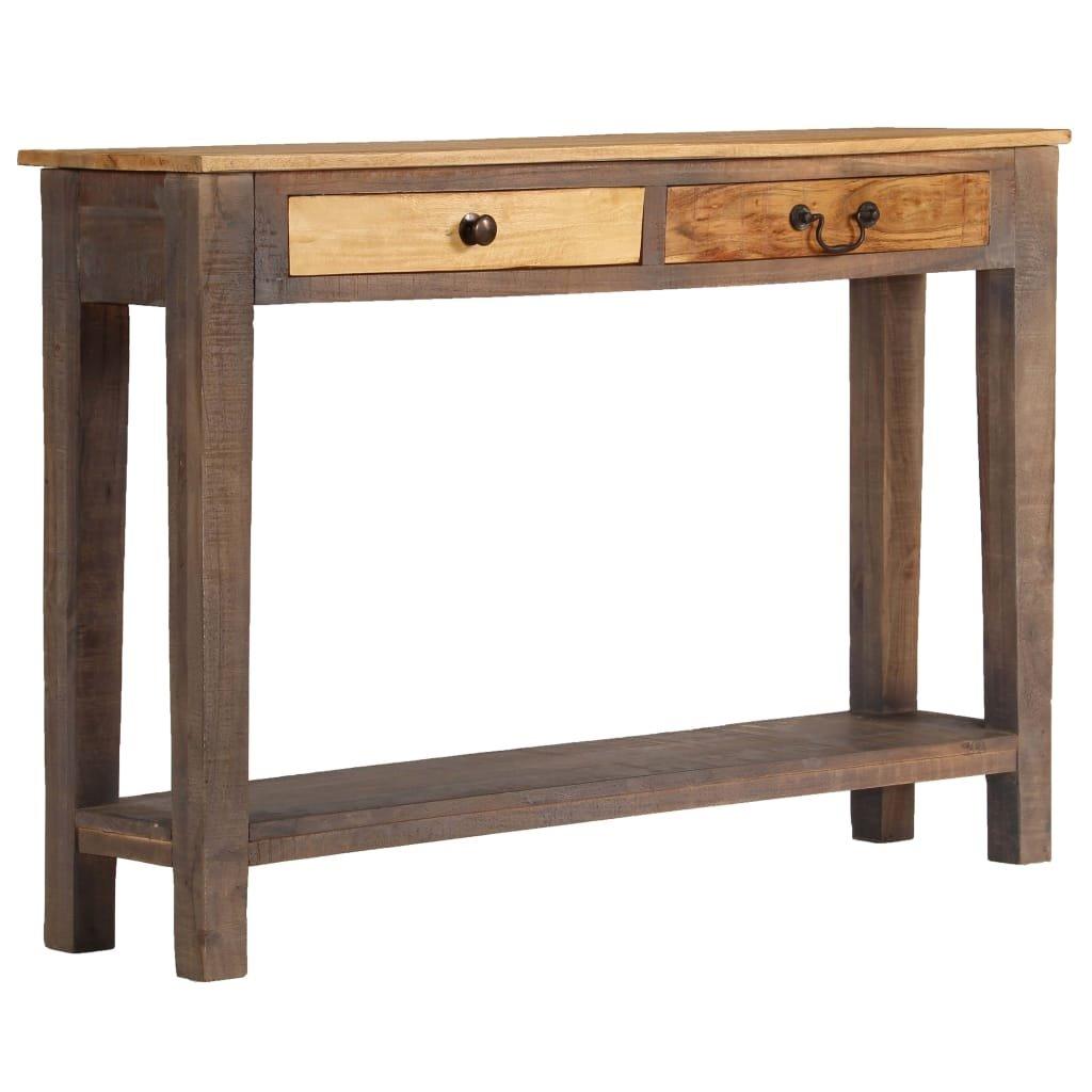 Konzolový stolek z masivního dřeva   118x30x80 cm