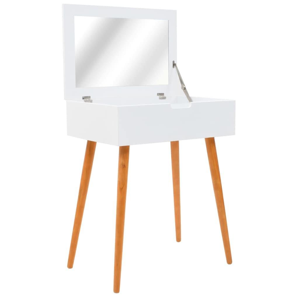 Toaletní stolek se zrcadlem - MDF | 60x40x75 cm