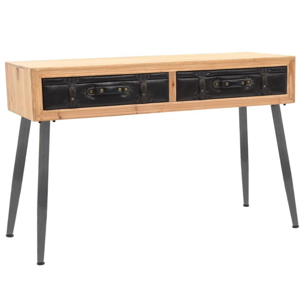 Konzolový stolek z masivního jedlového dřeva | 115x41x75,5 cm