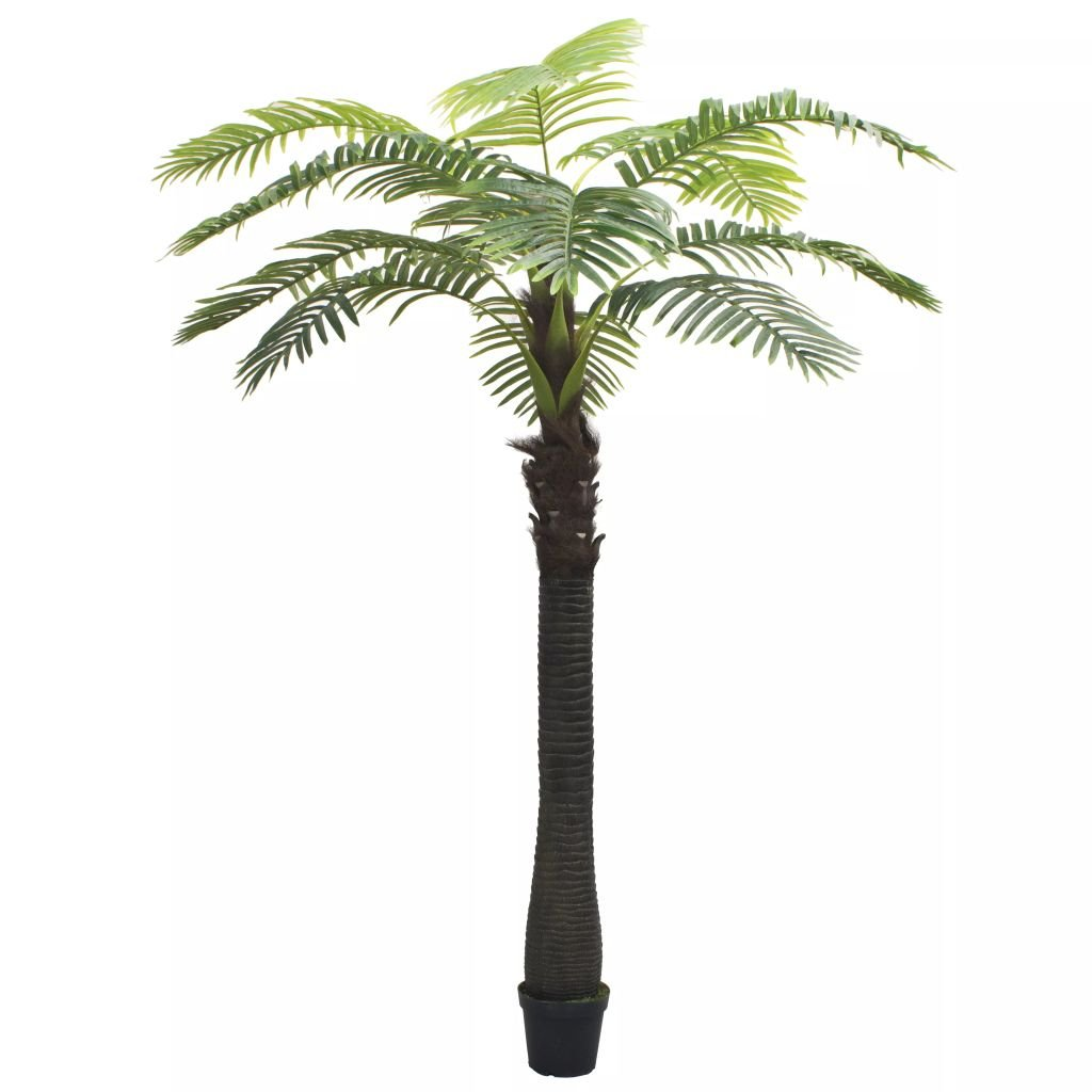 Umělá palma s květináčem - 310 cm | zelená