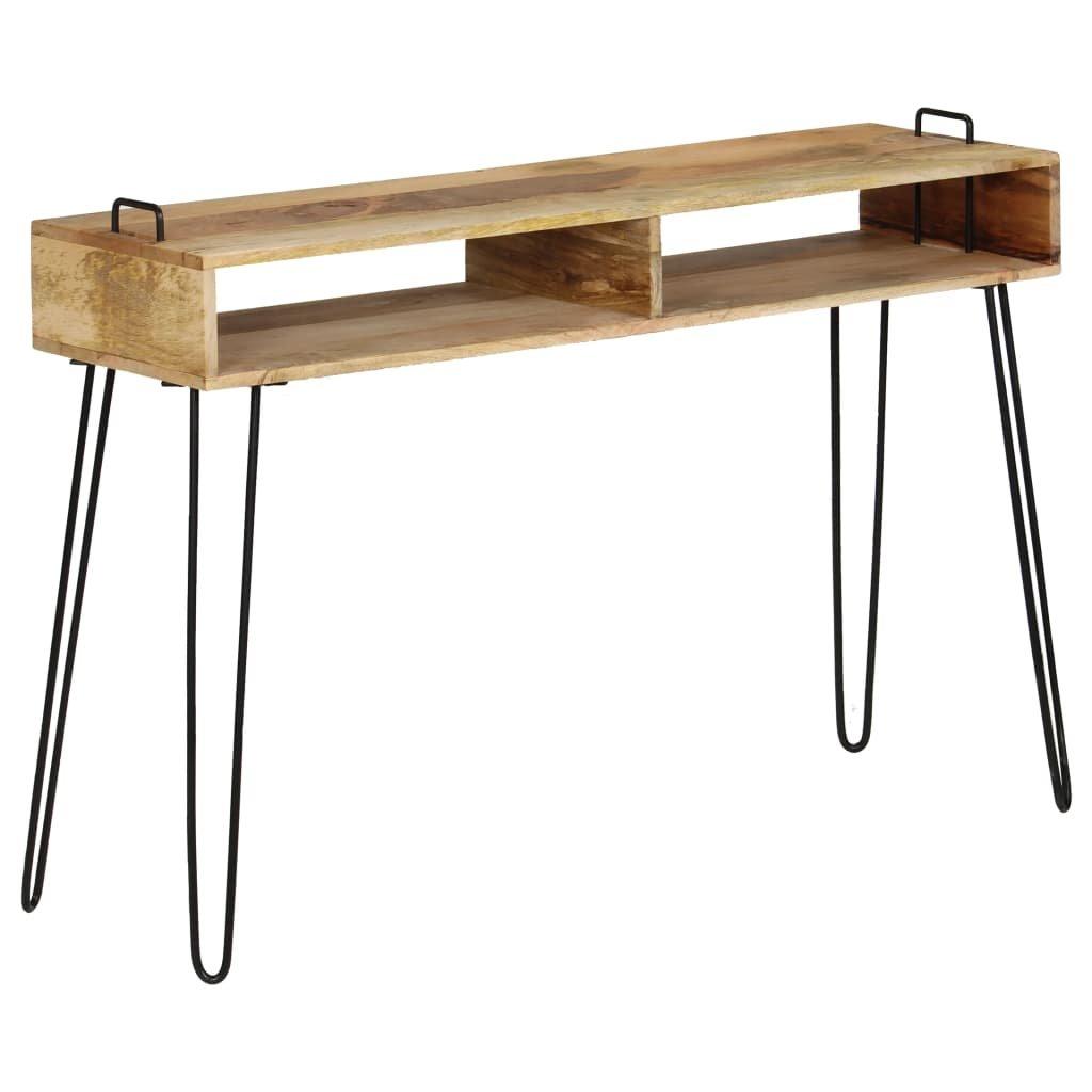 Konzolový stolek z masivního mangovníku   115x35x76 cm