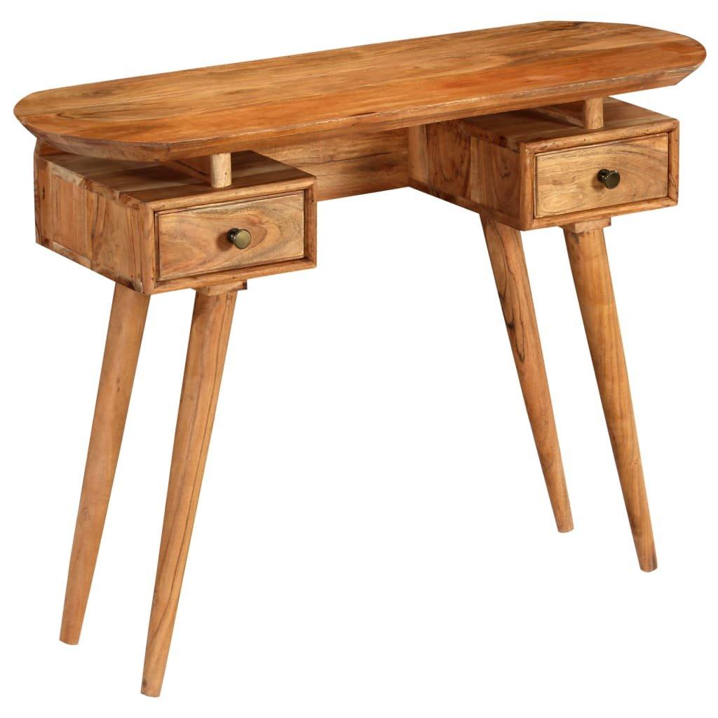 Konzolový stolek z masivního akáciového dřeva | 100x35x75 cm