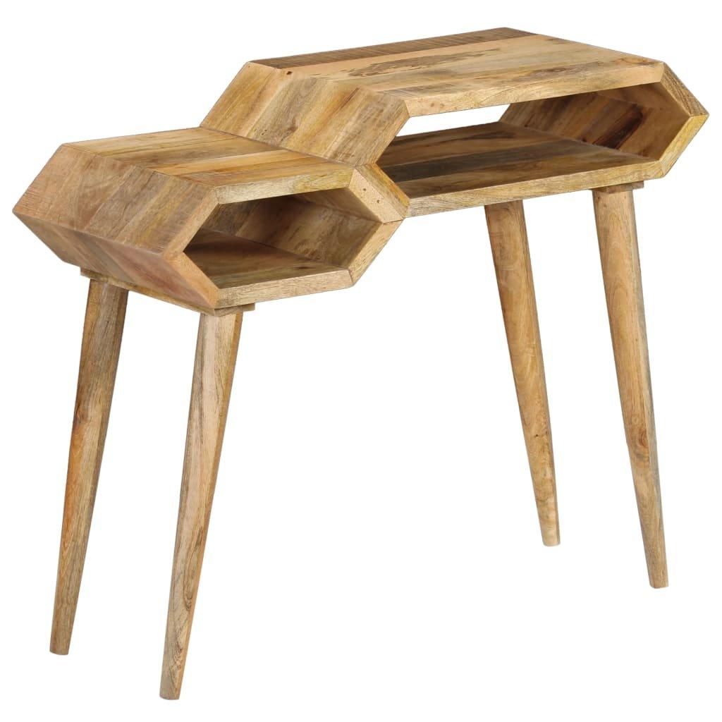Konzolový stolek z masivního mangovníku   90x35x76 cm