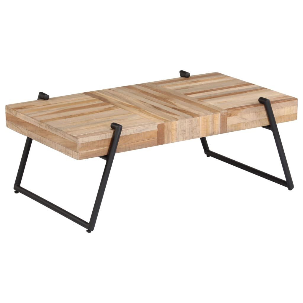 Konferenční stolek z recyklovaného teaku | 90x50x33 cm