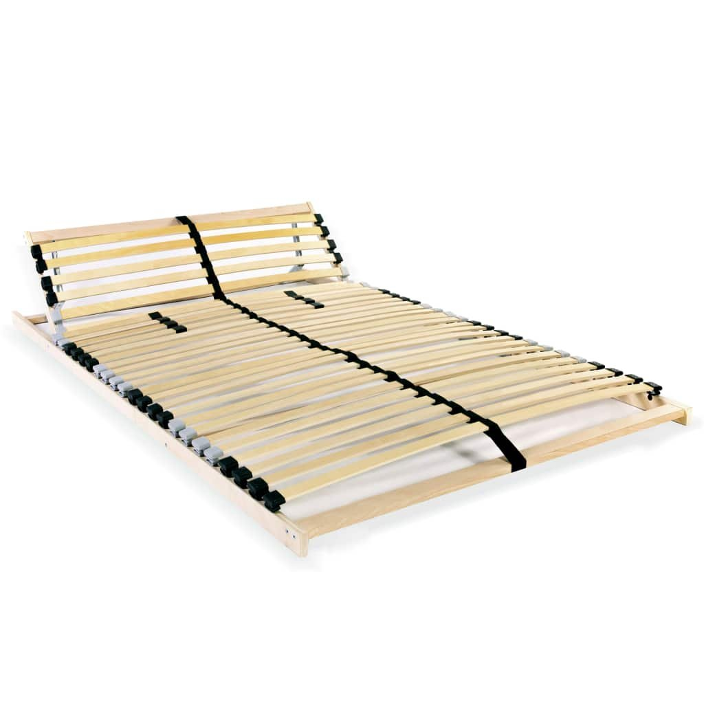 Lamelový rošt postele s 28 lamelami - 7 zón - nastavitelný   120x200 cm