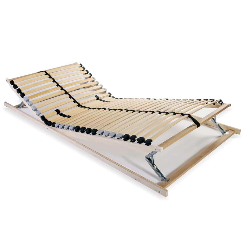 Lamelový rošt postele s 28 lamelami - 7 zón - nastavitelný | 70x200 cm
