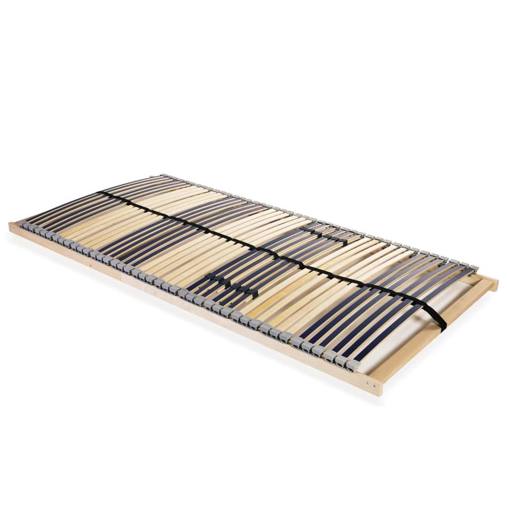 Lamelový rošt postele s 42 lamelami - 7 zón | 100x200 cm