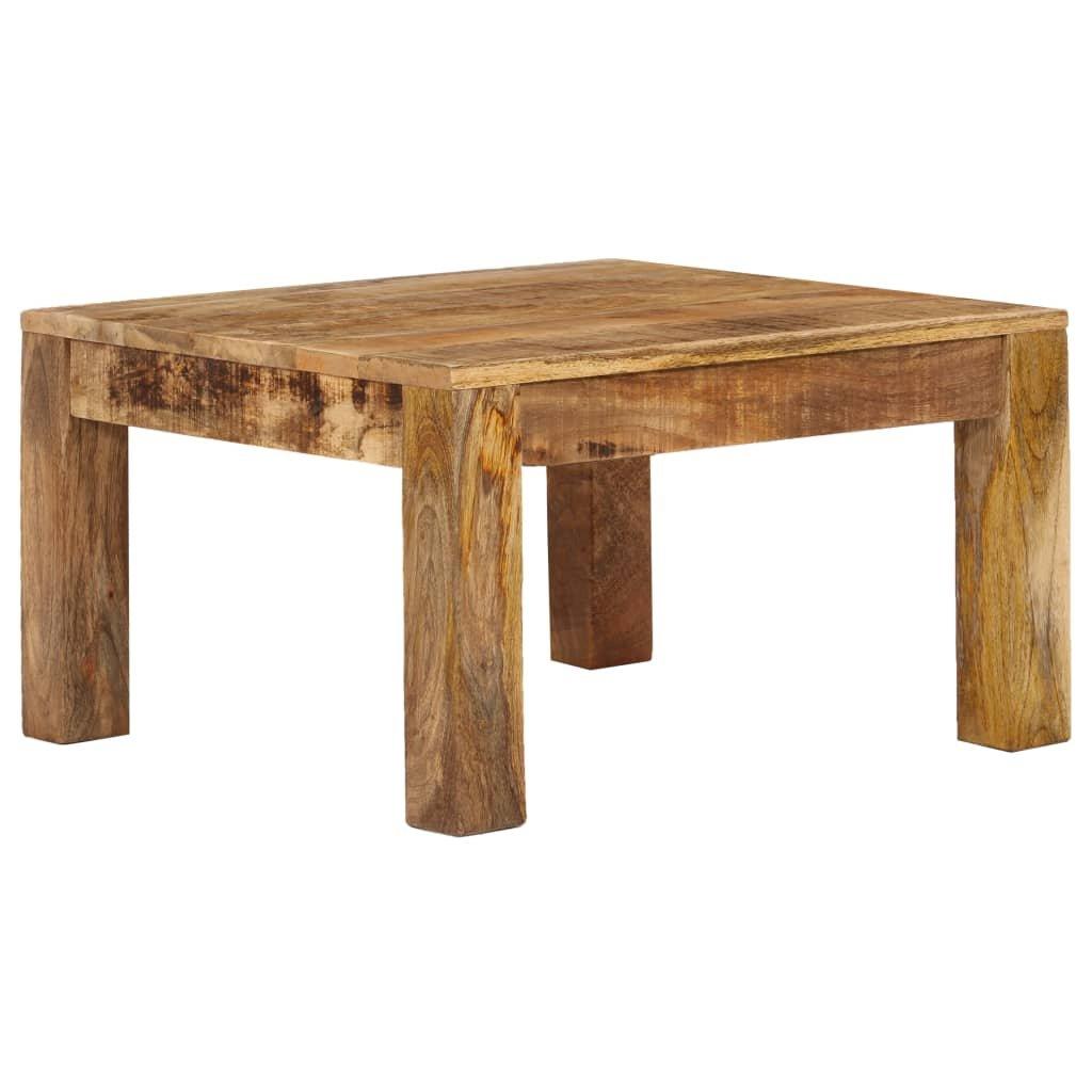 Konferenční stolek Thoreau - masivní mangovníkové dřevo | 60x60x35 cm