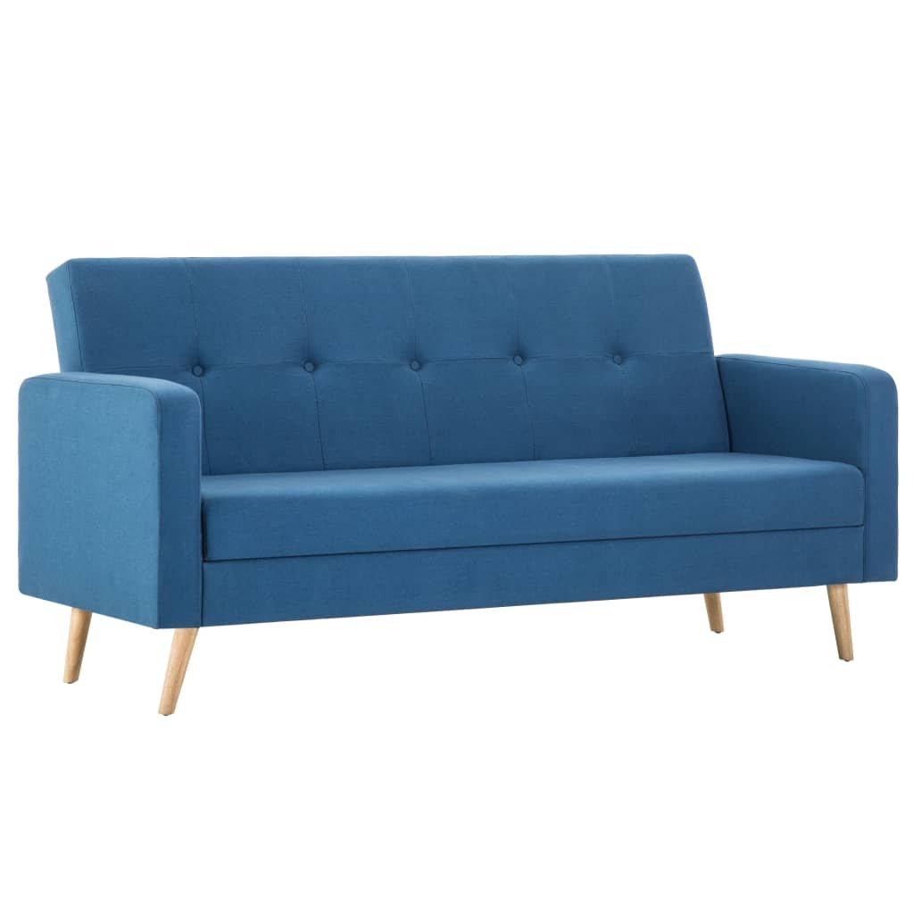 Pohovka s textilním čalouněním | modrá