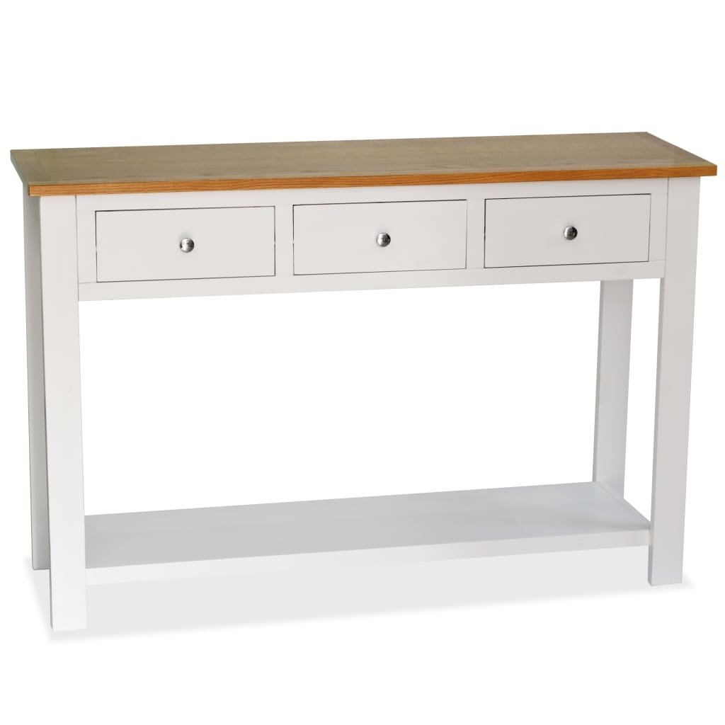 Konzolový stolek - masivní dub | 118x35x77 cm
