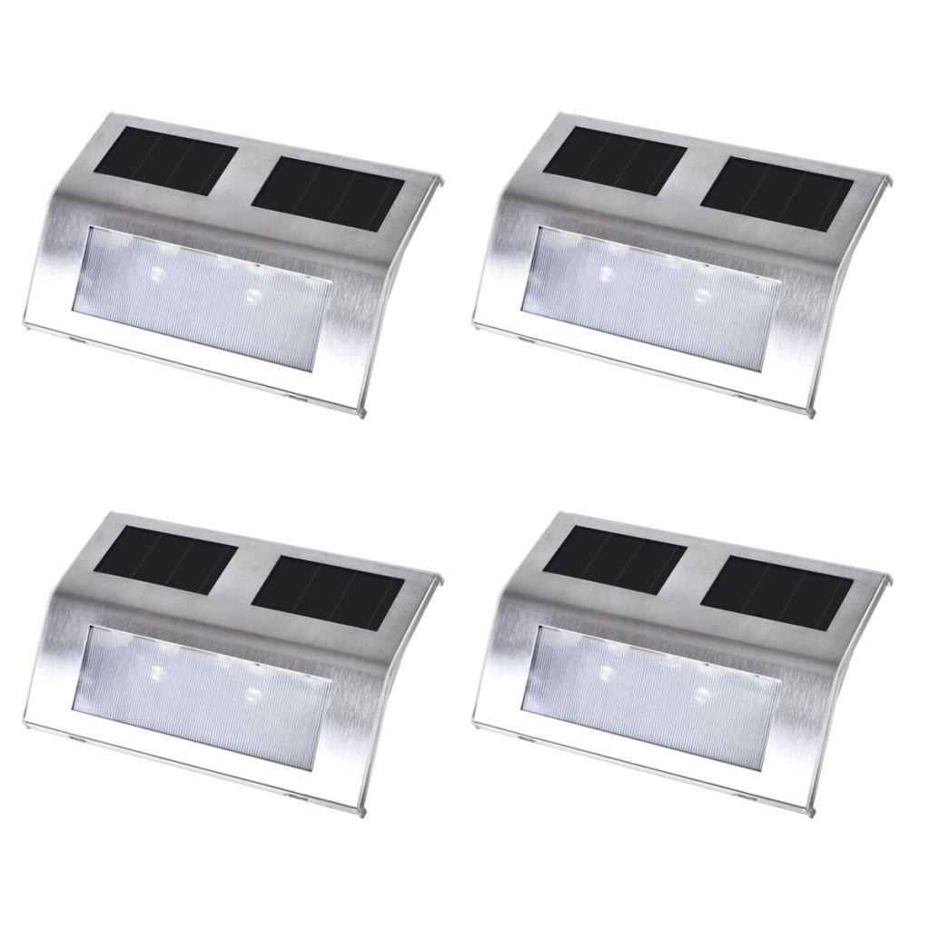 Zahradní solární svítidla na schodiště | 4 ks