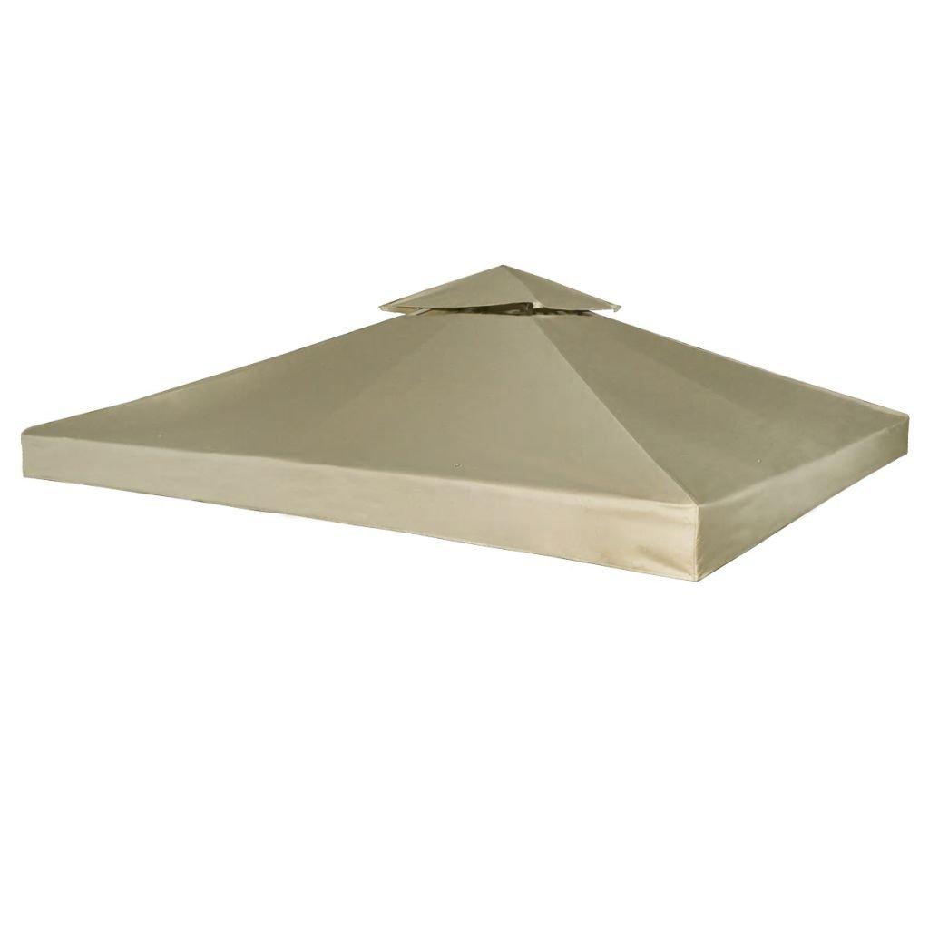 Nepromokavá náhradní střecha na altán - béžová   3x3m