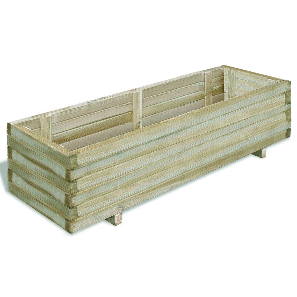 Truhlík - FSC dřevo - obdélníkový | 120x40x30 cm