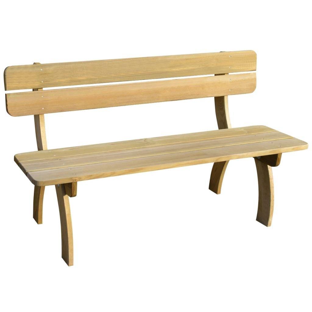 Zahradní lavice - FSC impregnované borové dřevo | 150 cm