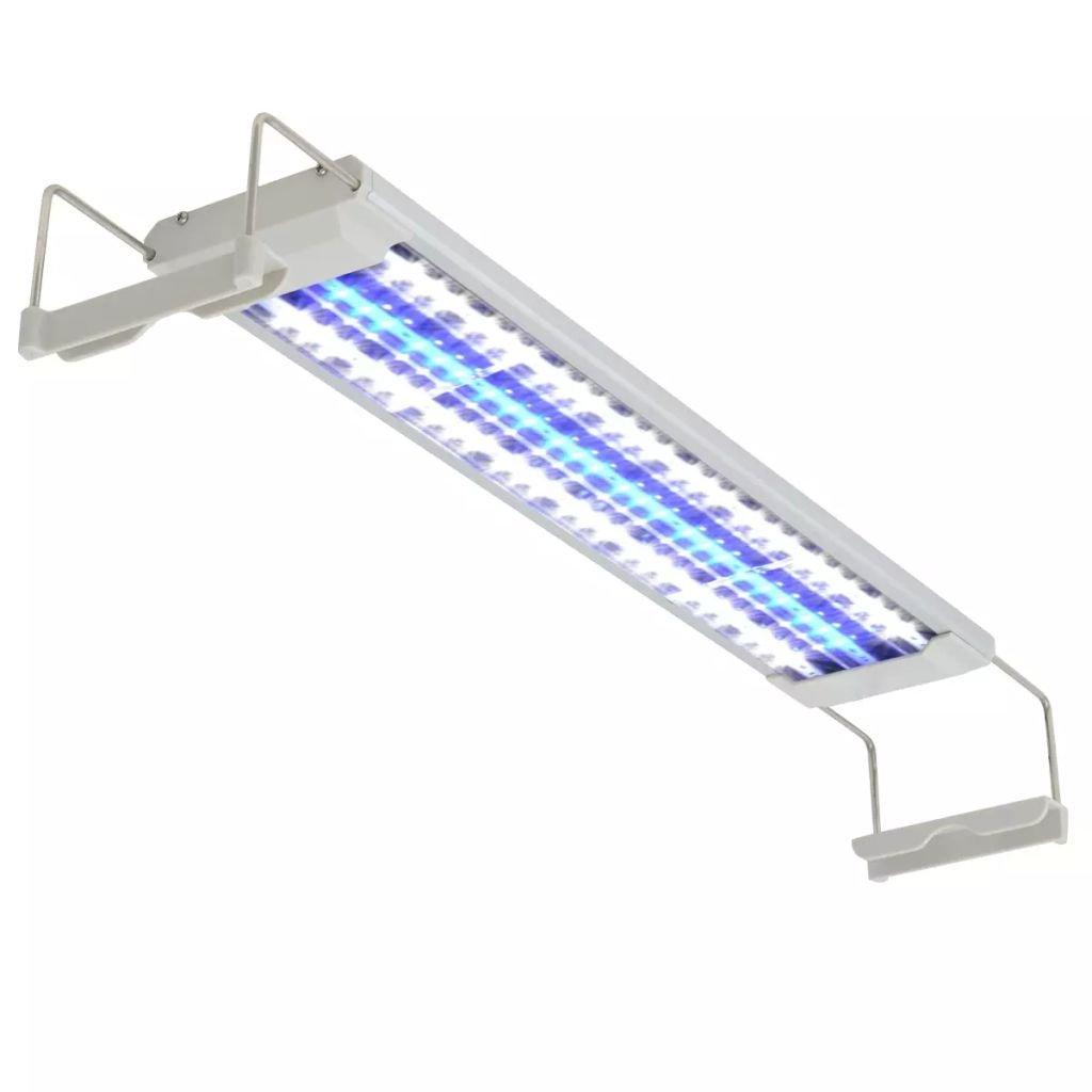 LED akvarijní lampa - hliník    50–60 cm
