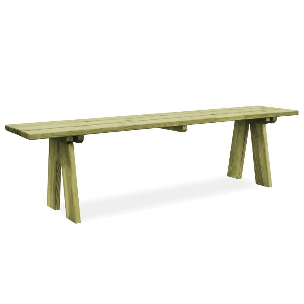 Zahradní lavice - FSC impregnované - borové dřevo | 170 cm