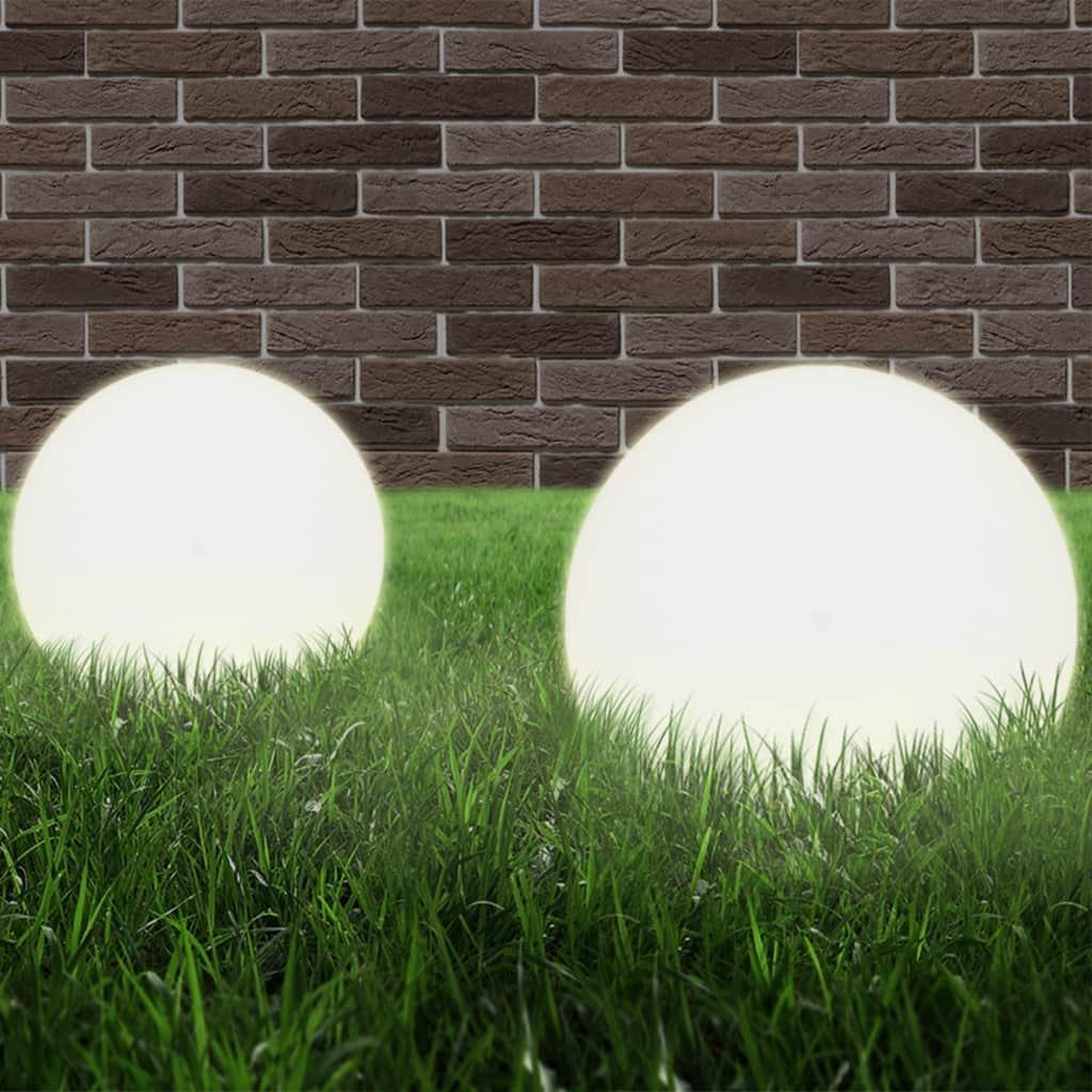 Kulovité LED lampy 2 ks - koule | 25 cm