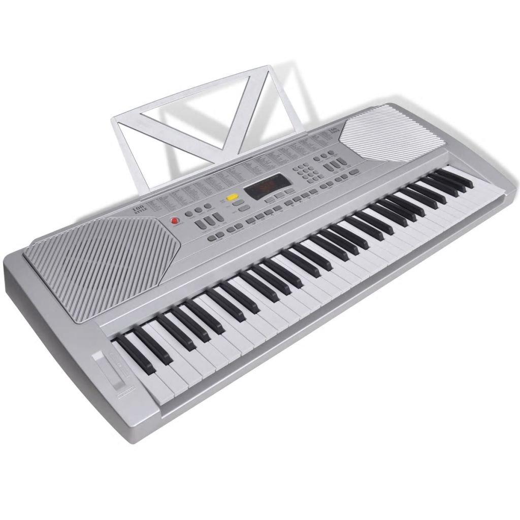 Elektronické klávesy se stojánkem na noty   61 kláves