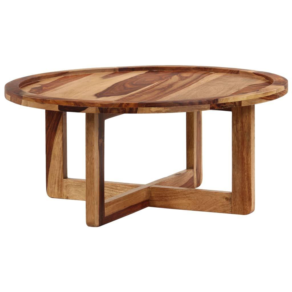 Konferenční stolek - masivní sheeshamové dřevo | 80x35 cm