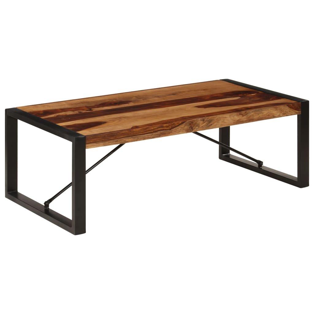 Konferenční stolek - masivní sheesham   120x60x40 cm