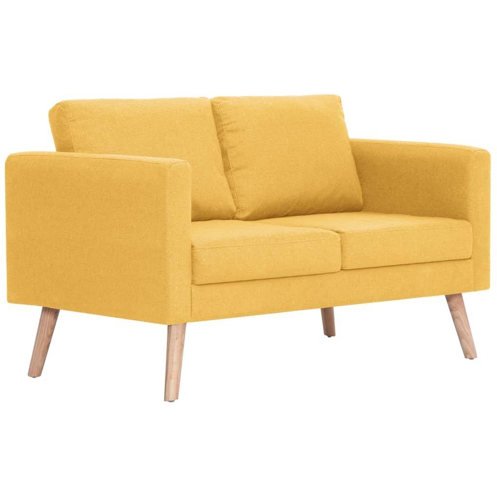 Pohovka Webster - textilní čalounění | žlutá