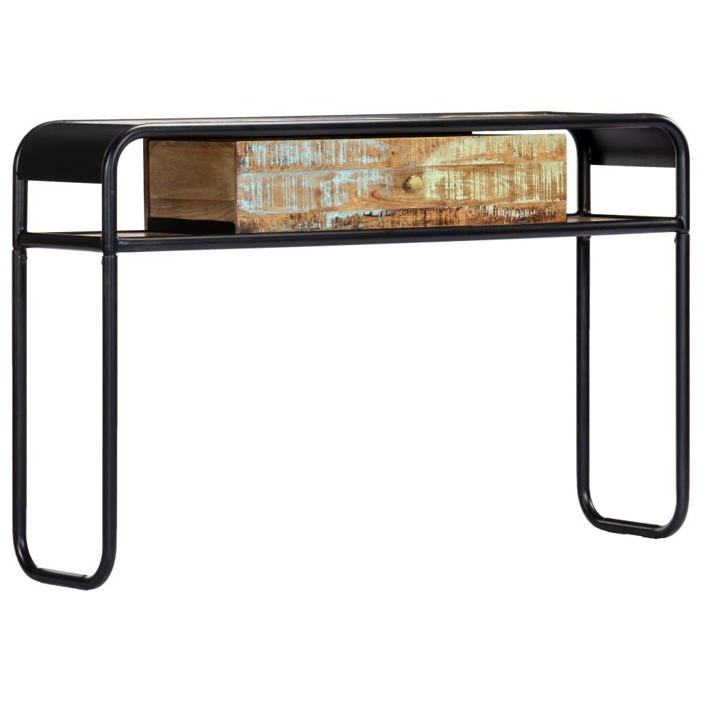 Konzolový stolek - masivní recyklované dřevo   118x30x75 cm