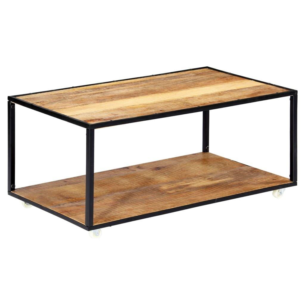 Konferenční stolek - masivní recyklované dřevo | 90x50x40 cm