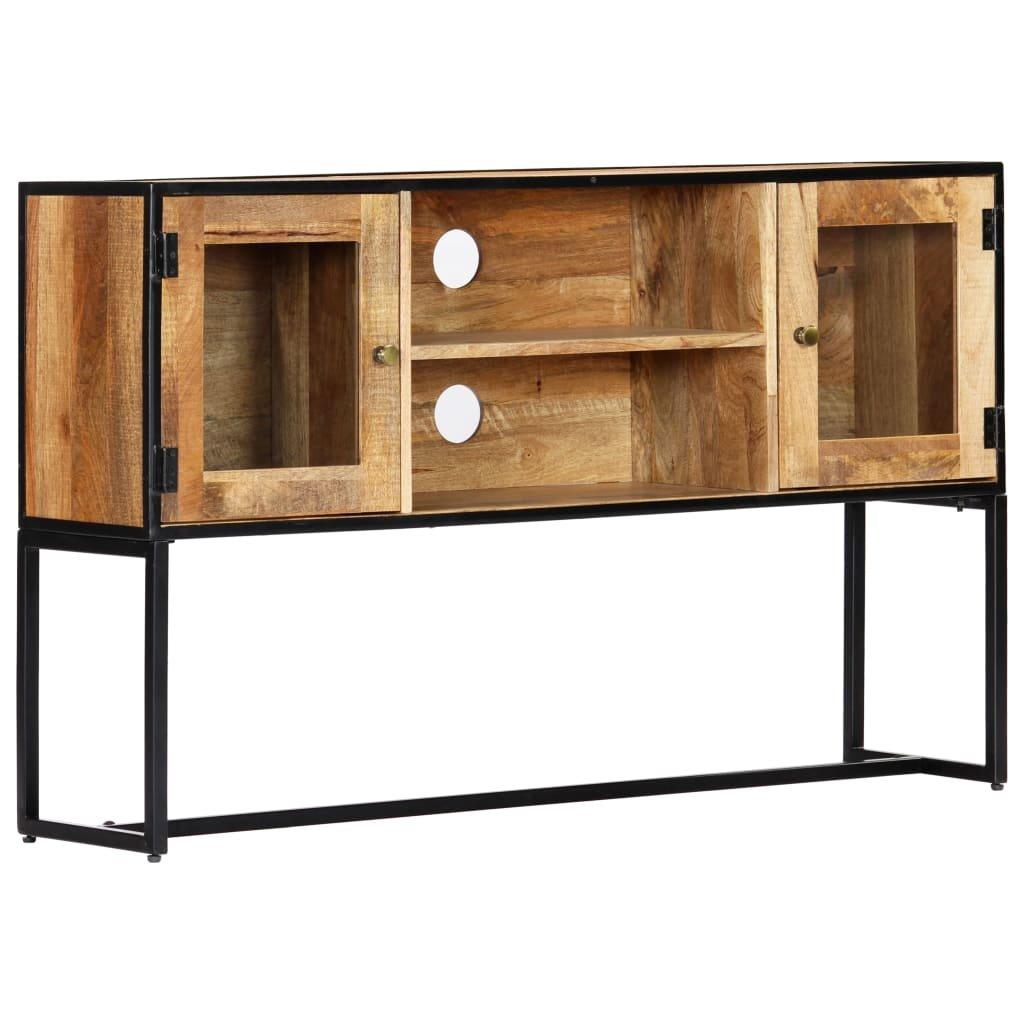 TV stolek - masivní recyklované dřevo | 120x30x75 cm
