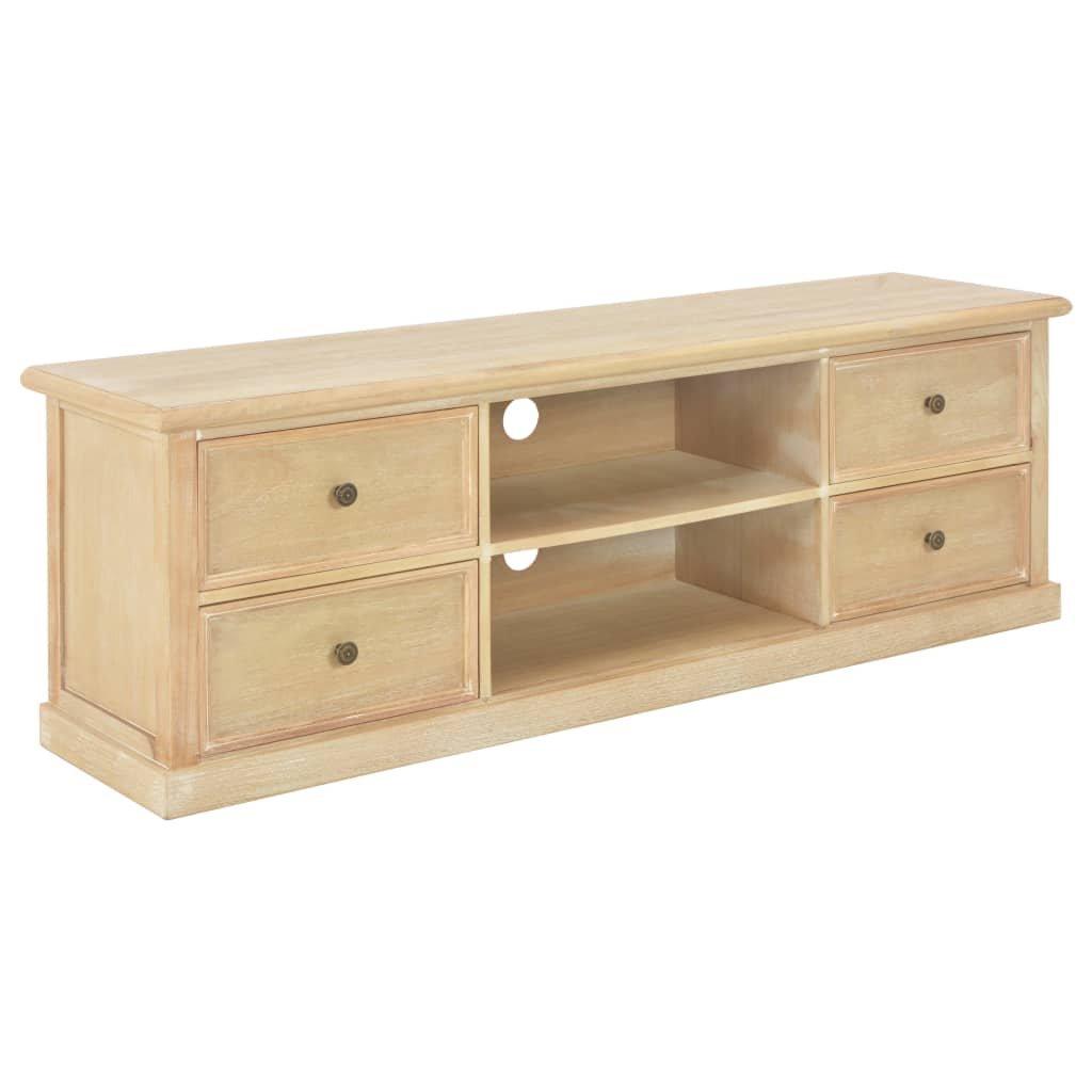 TV stolek Bothal - dřevo | 120x30x40 cm