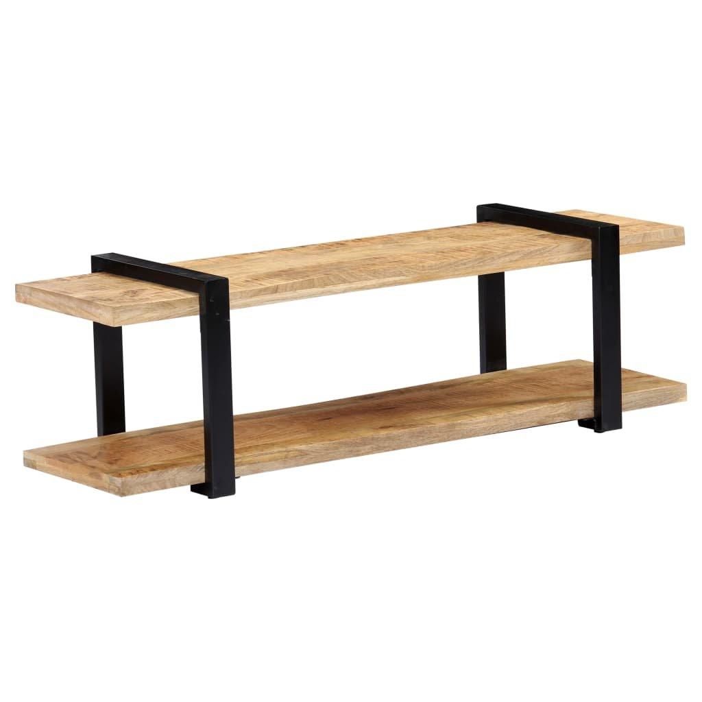 TV stolek - masivní mangovníkové dřevo | 130x40x40 cm