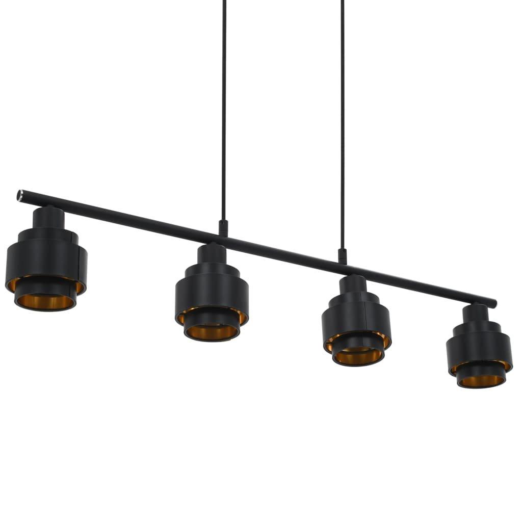 Stropní svítidlo -  E14 - černé   82 cm