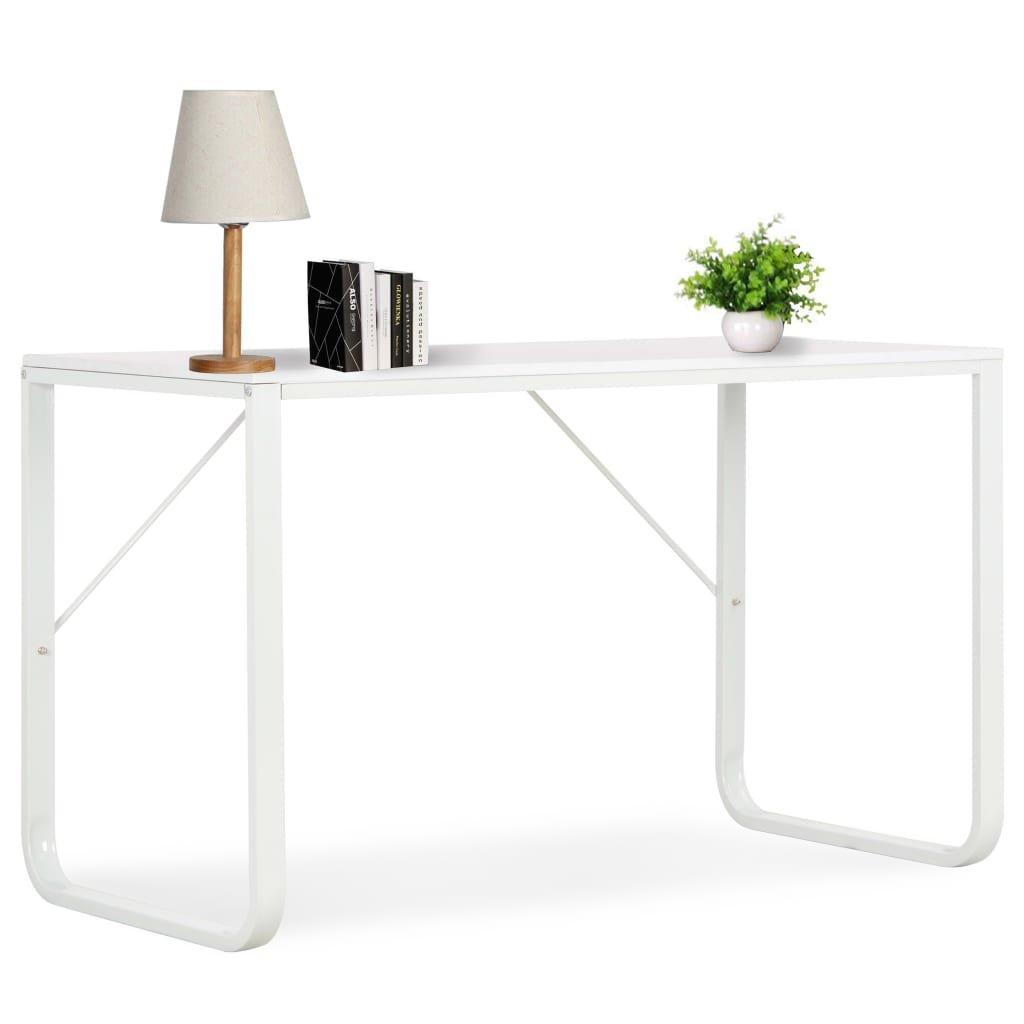 PC stůl Atlanta | bílý - 120 x 60 x 73 cm