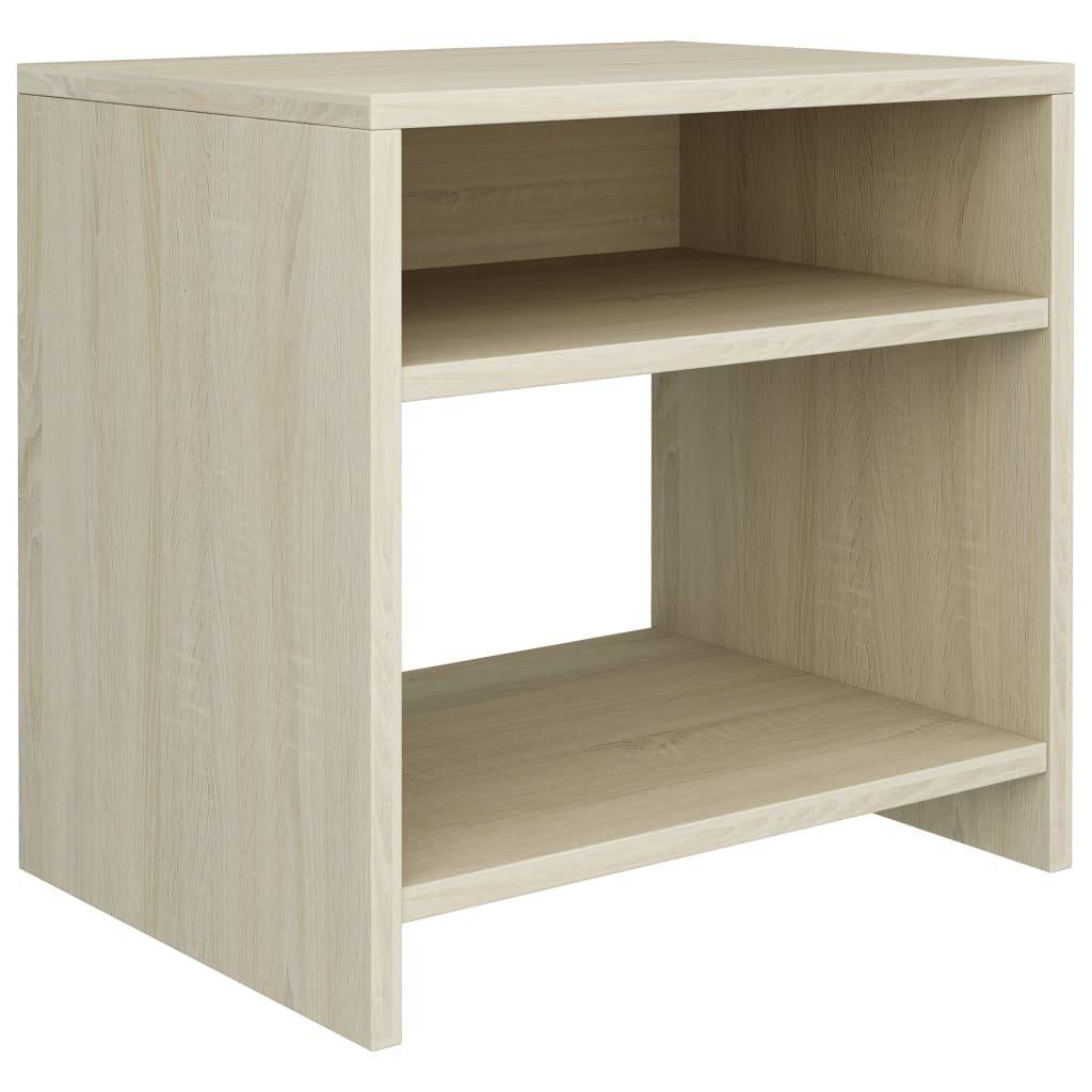 Noční stolek - dřevotříska - dub sonoma | 40x30x40 cm