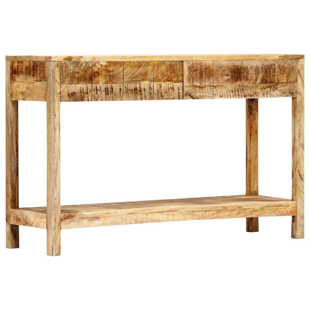 Konzolový stolek - masivní mangovníkové dřevo | 120x35x75 cm