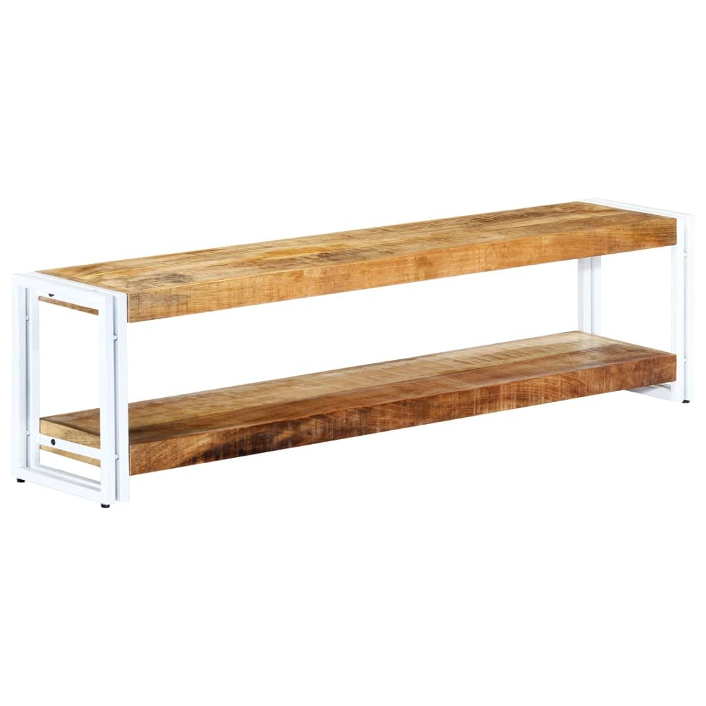 TV stolek - masivní mangovníkové dřevo | 150x30x40 cm