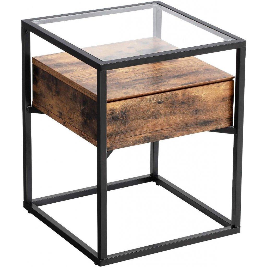 Boční stolek Lincoln   43x43x54 cm