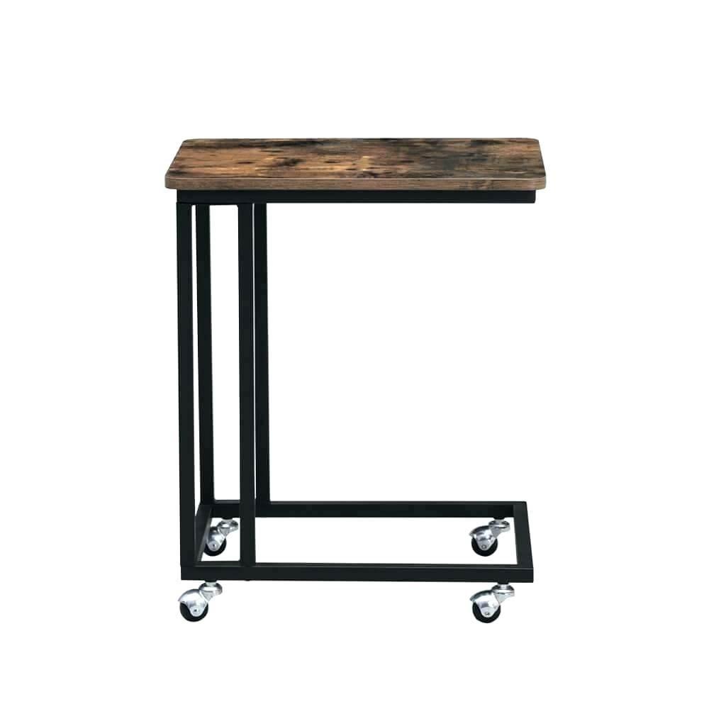 Boční stolek Hawick - pojízdný | 50x35x62 cm