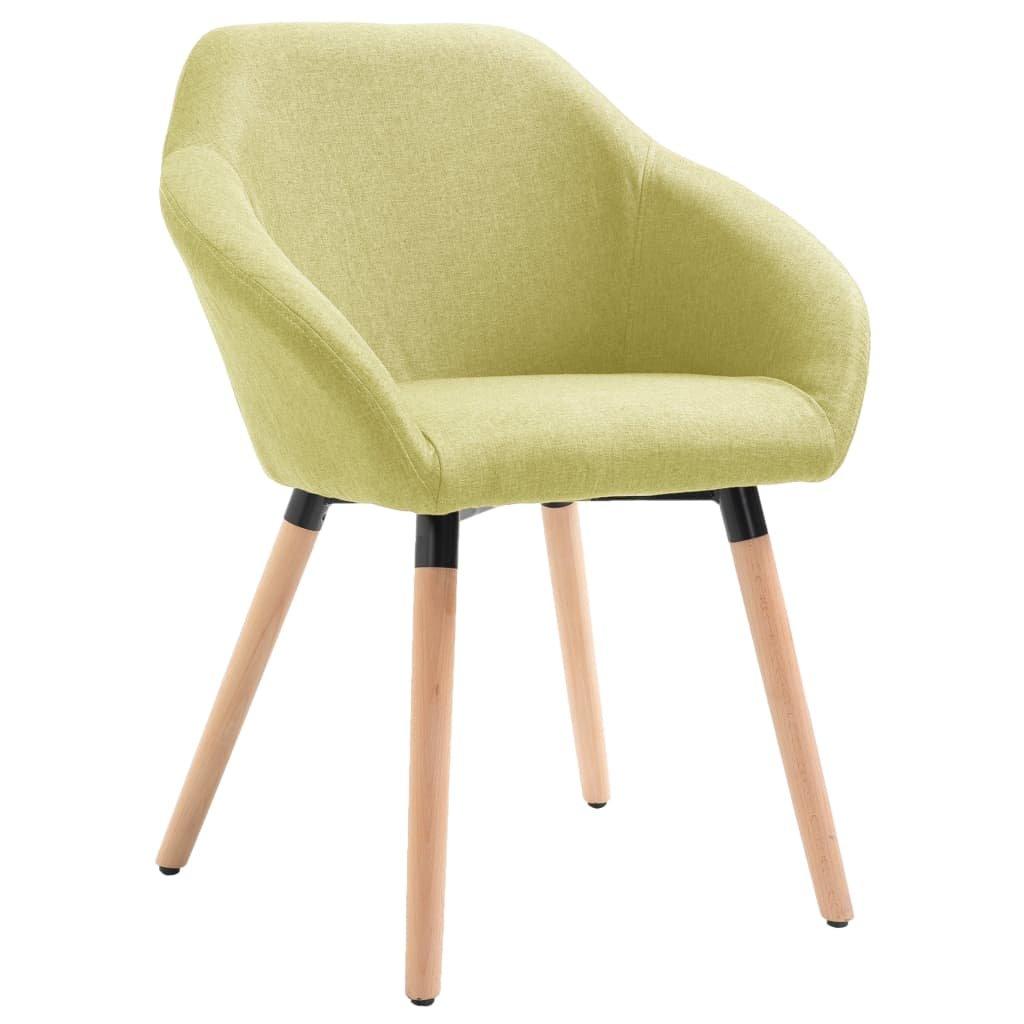 Jídelní židle Gurdon - textil   zelená
