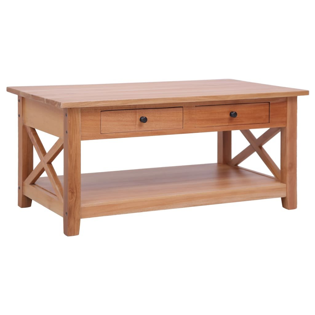 Konferenční stolek - masivní mahagon | 100x55x46 cm