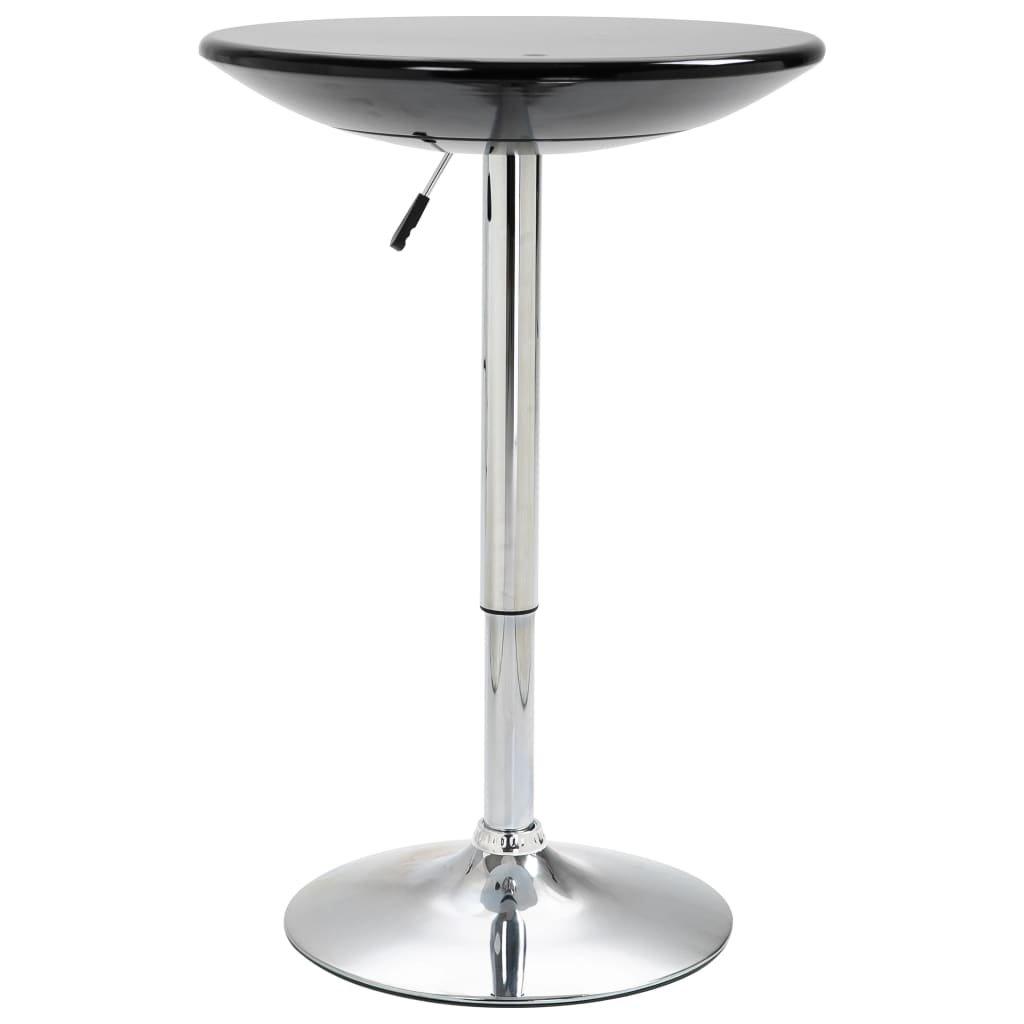 Barový stůl Groote - ABS - O 60 cm   černý