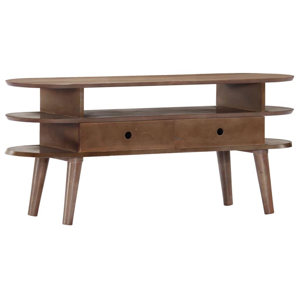 TV stolek - masivní akciové dřevo | 110x35x50 cm