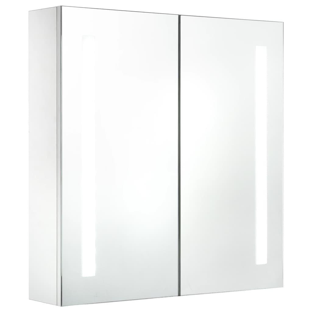 LED koupelnová zrcadlová skříňka   62x14x60 cm
