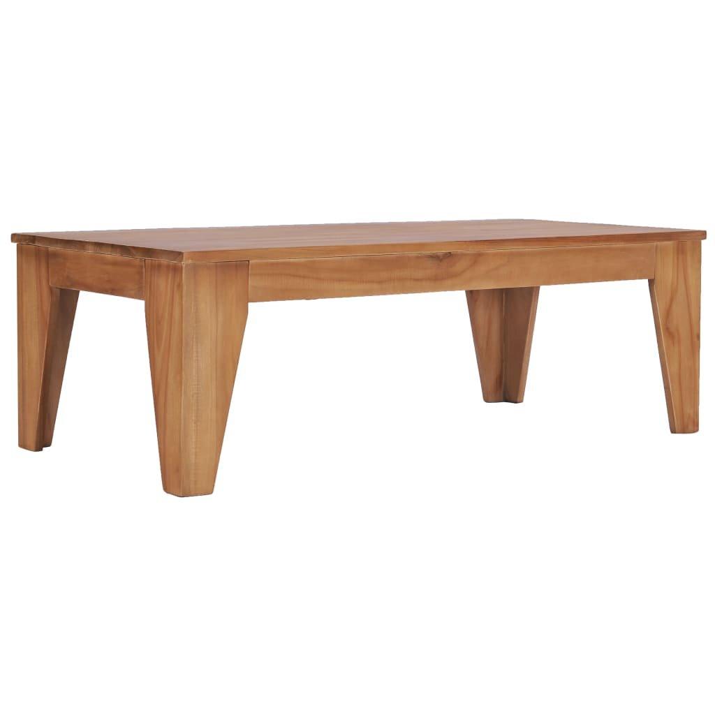 Konferenční stolek Elmer -  120 x 60 x 40 cm   masivní teakové dřevo