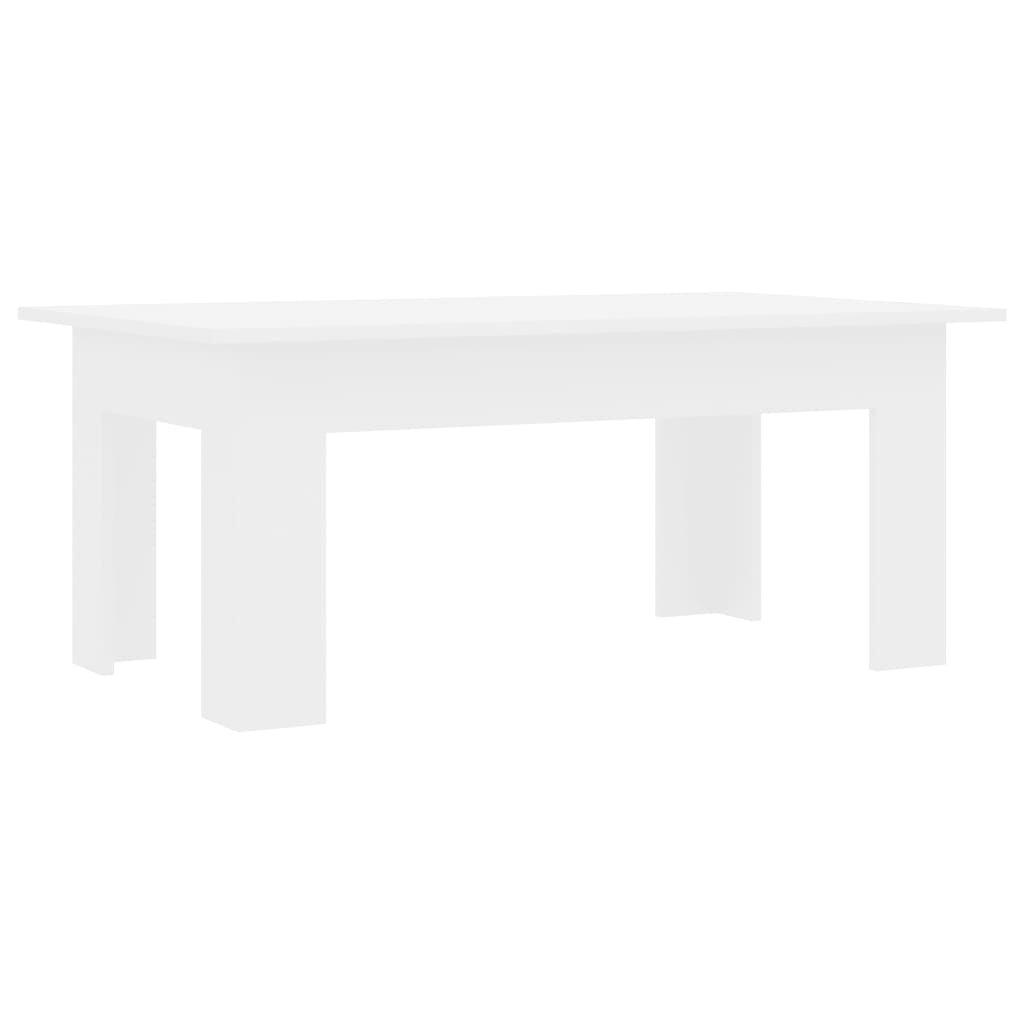 Konferenční stolek Bonds - bílý vysoký lesk   100x60x42 cm