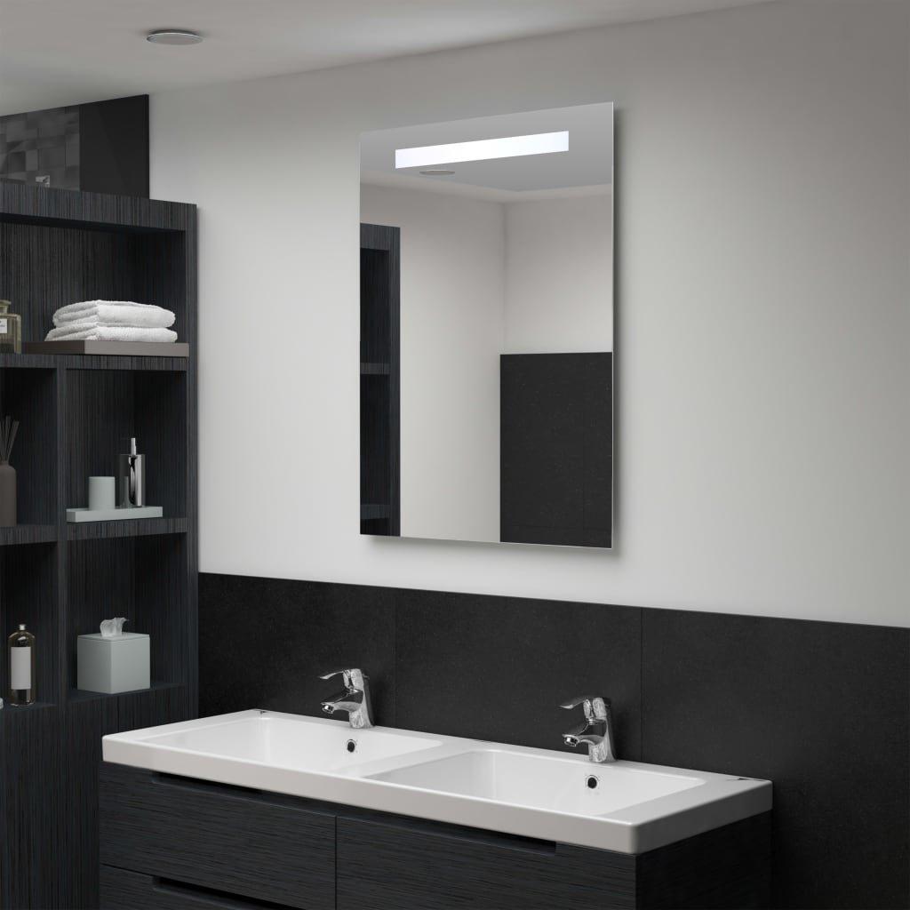 Koupelnové nástěnné zrcadlo s LED osvětlením   60x80 cm
